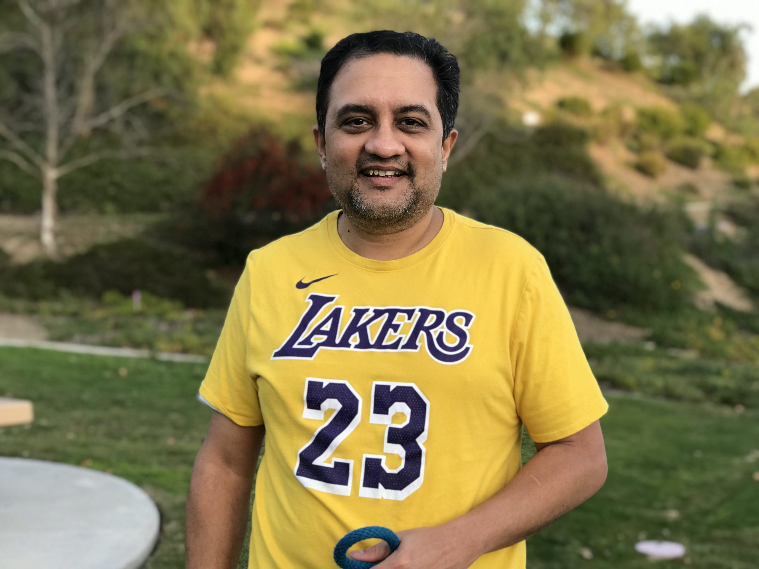 Laker fan at the park!